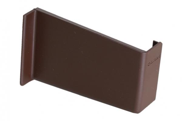Крышечка декоративная для навеса кухонного полок коричневая правая CAMAR (806.00.04.00 DX)