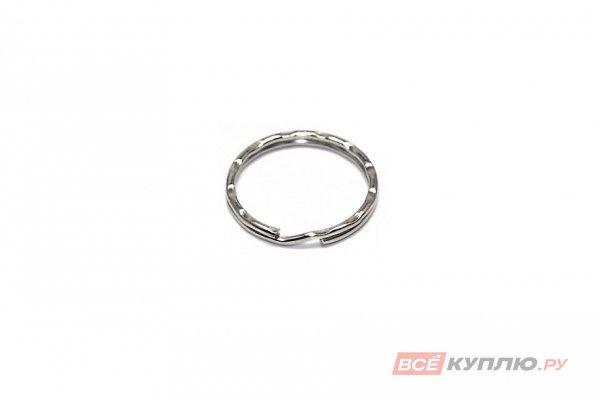 Кольцо для ключей АЛЛЮР среднее фигурное d=24 мм (3104)