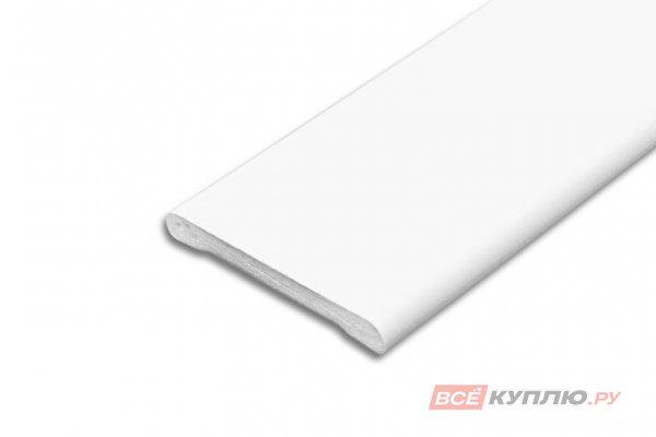Наличник ПВХ IDEAL Н40 001 Белый 2,2 м