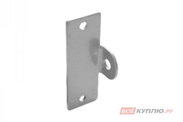 Проушина гаражная Домарт 50*150 толщина 4 мм серый металлик (9376)