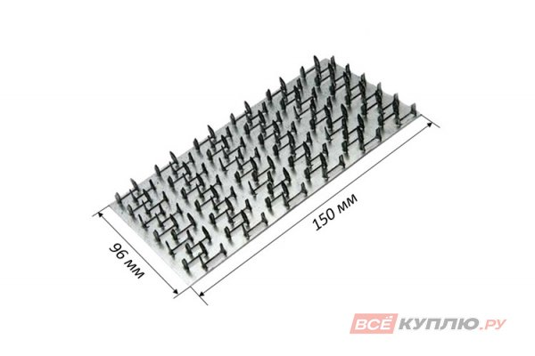 Пластина гвоздевая PSE 150*96*1,2 мм