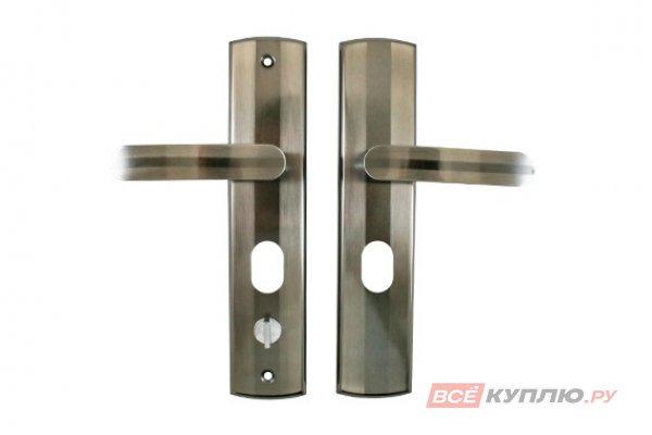 Ручки дверные на планке СТАНДАРТ РН-СТ217-R правые (9990)