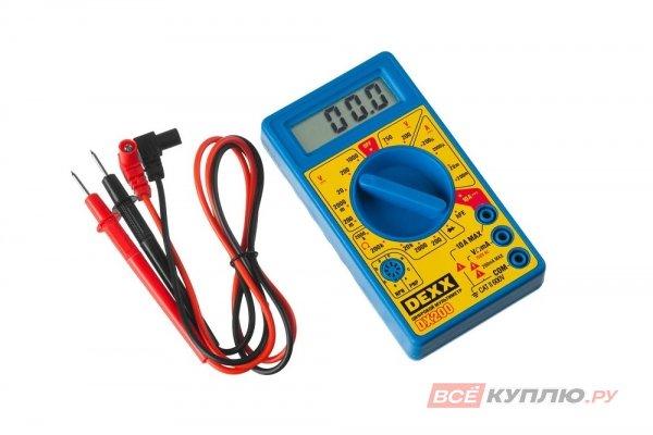 Мультиметр цифровой DEXX DX200 (45300)