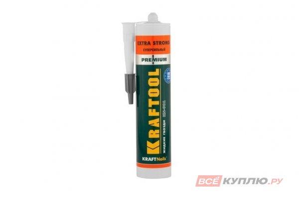 Клей монтажный KRAFTOOL KraftNails Premium KN-901, сверхсильный универсальный 300 мл (41343_z01)