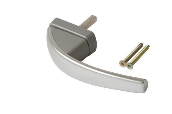 Ручка оконная Roto Swing натуральное серебро