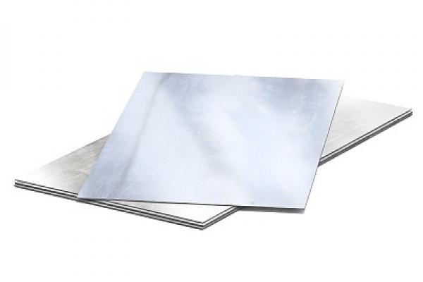 Лист оцинкованный неокрашенный  плоский 0,45 мм 1250*2500 мм