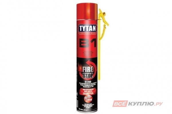 Пена монтажная профессиональная TYTAN PROFESSIONAL В1 огнеупорная 750 мл (21154)