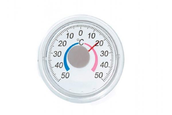 Термометр оконный биметаллический ТББ (круглый)