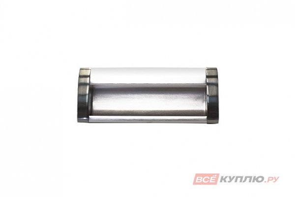 Ручка врезная мебельная алюминиевая UA-OO-326/096 инокс