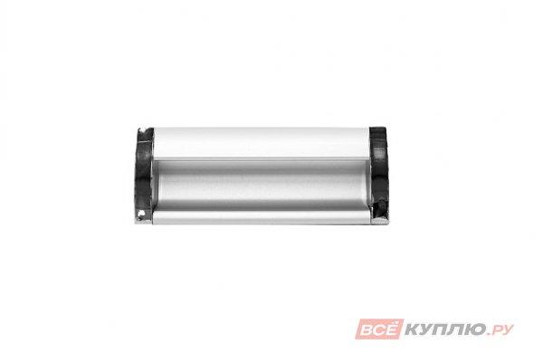 Ручка врезная мебельная алюминиевая UA-OO-326/096 алюминий/хром
