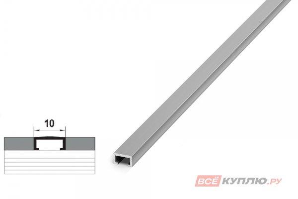 Профиль для кафельной плитки серебро ПП 02.2500 мм