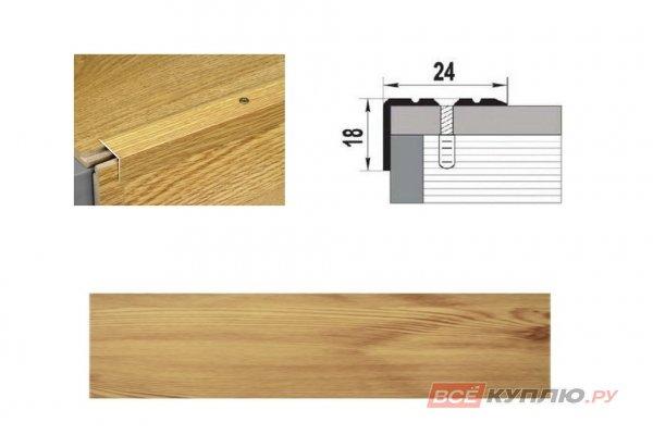 Профиль угловой ПУ-03 900 мм сосна