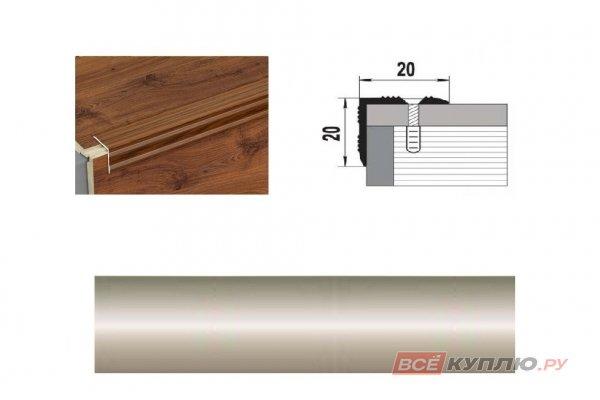 Профиль угловой ПУ-05 900 мм бронза