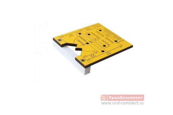 Шаблон мебельный для внутренних и накладных петель МШ-06