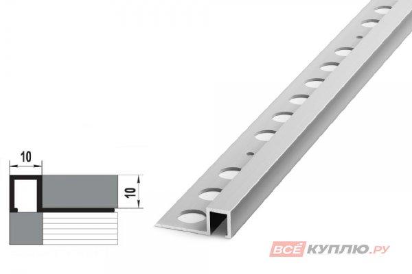 Профиль окантовочный серебро ПК 11-10.2700 мм