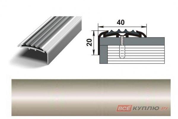 Профиль угловой ПУ-71 900 мм бронза