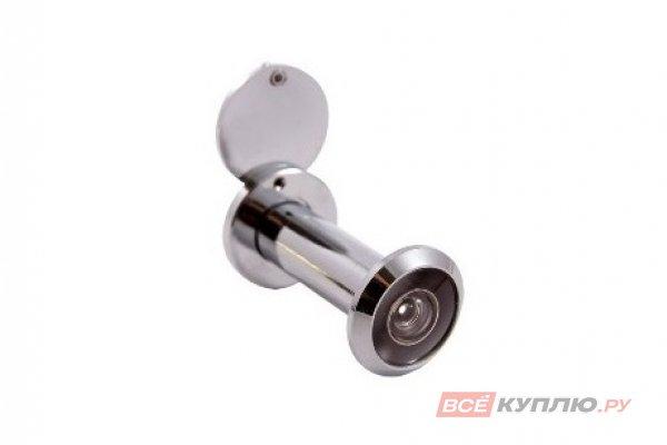 Глазок дверной АЛЛЮР ГДШ-4 БШт 60-100 мм d=16 мм хром