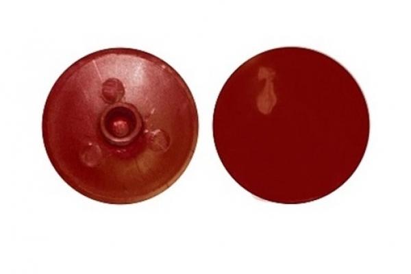 Заглушка на эксцентрик №7 Красная вишня (50 шт)