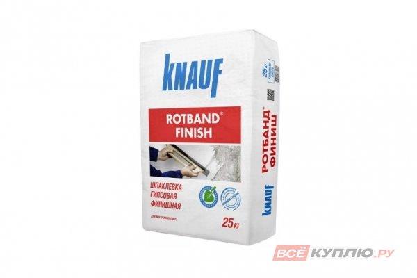 Шпаклёвка гипсовая Knauf Ротбанд Финиш 25 кг