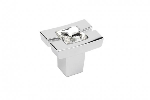 Ручка-кнопка мебельная хром (GZ-71CO24-01)