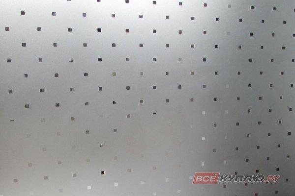 Стекло узорчатое матовое бесцветное Паве 2550*1605*4 мм (цена за лист)