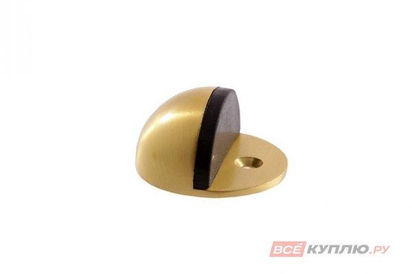 Ограничитель дверной АЛЛЮР G-7018 круглый матовое золото