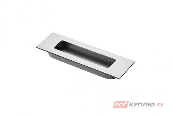 Ручка врезная мебельная UZ-E6-096-05 алюминий
