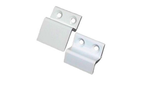 Крепление м/с металлическое, верх/низ, белое