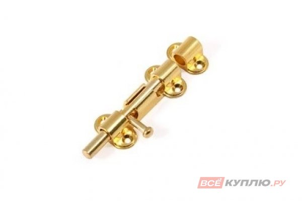 Шпингалет АЛЛЮР G-018S золото 2 шт (9715)