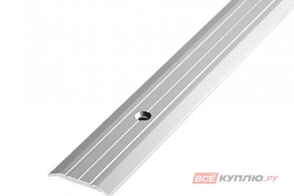 Профиль стыкоперекрывающий ПС-01 1350 мм серебро полиэфир