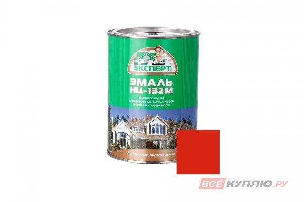 Эмаль НЦ-132M Эксперт красная 0,7 кг