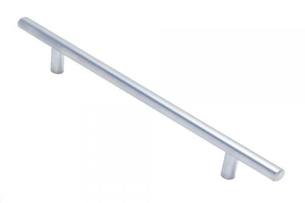 Ручка рейлинг мебельная мат. хром D12 RE 1006/128/188