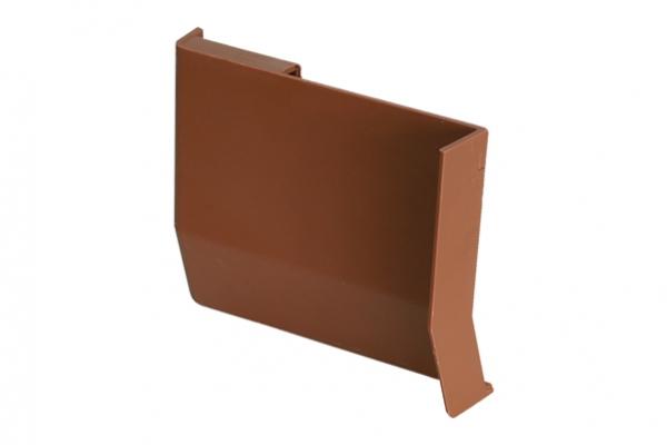 Крышечка декоративная для навеса кухонного светло-коричневая левая CAMAR (806.00.35.00 SX)