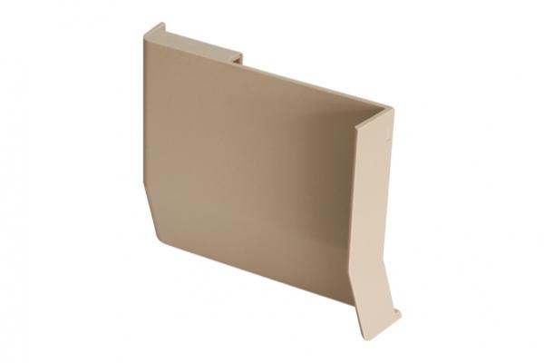Крышечка декоративная для навеса кухонного бежевая левая CAMAR (806.00.05.00 SX)