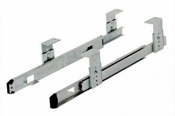 Направляющие мебельные для выдвижной клавиатуры (шариковые) 35/350 мм