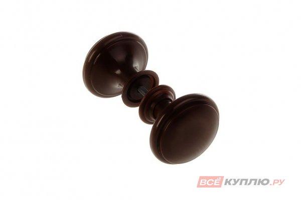 Ручка-кнопка Башкирия РДП-03-3 темное дерево (2363)