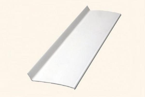 Откос наружный жесткий ПВХ 100*10*2 белый