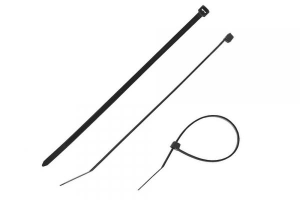 Хомуты ЗУБР нейлоновые черные 2,5*80 мм 100 шт (309030-25-80)