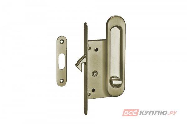Ручки с замком для раздвижных дверей TIXX SDH-BK 501 AB бронза (6212)