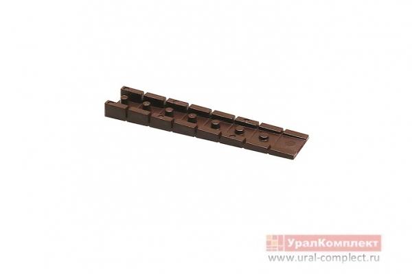 Клин для выравнивания мебели темно-коричневый