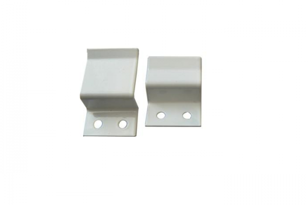 Крепление для м/с, верх/низ, белое, металл