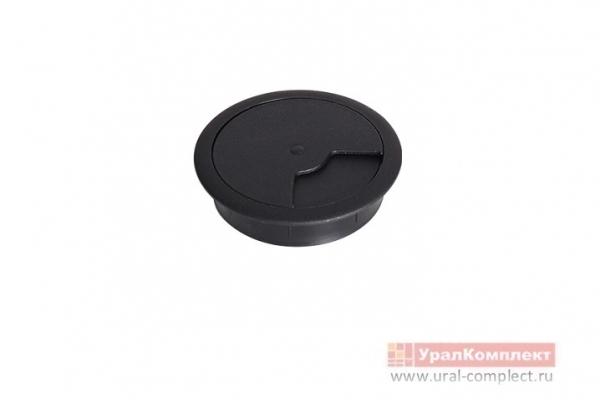Заглушка мебельная для кабель-канала КК 60 мм венге