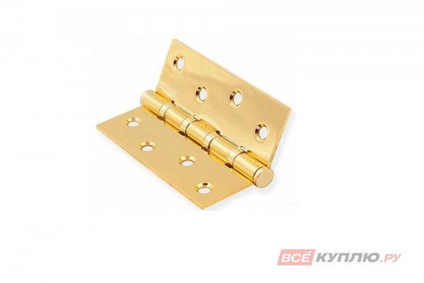 Петля дверная накладная ARSENAL 100*70*2,5-4BB SB матовое золото