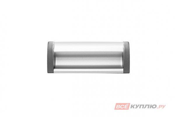 Ручка врезная мебельная алюминиевая UA-OO-326/096 алюминий
