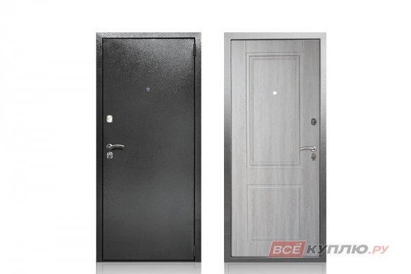 """Дверь металлическая Берлога """"Абсолют Грей"""""""