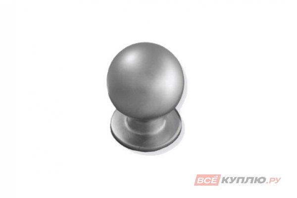 Ручка кнопка GN 3408 алюминий AMIX