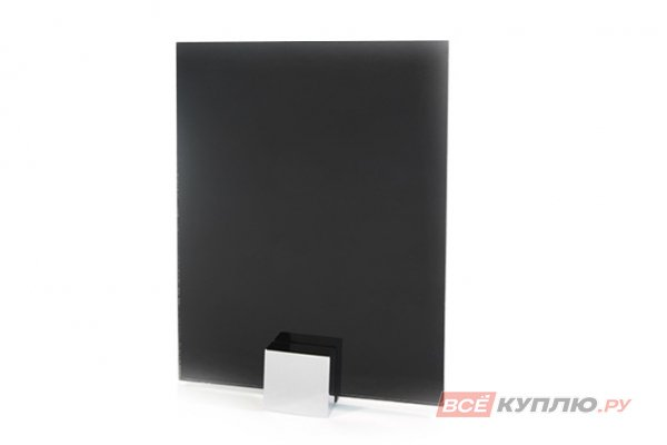 Стекло Lakobel черное (RAL 9005) 2550*1605*4 мм (цена за лист)
