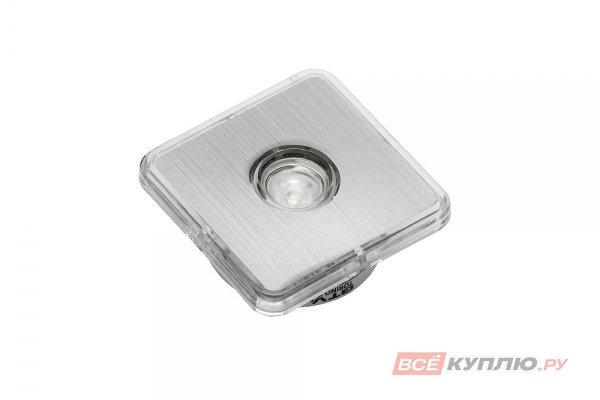 Точечный встраиваемый светодиодный светильник Torino квадратный 1W, 12V, теплый свет (7050)