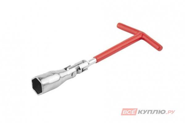 Ключ свечной DEXX с шарниром 21 мм (27507-21)