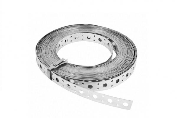 Лента монтажная LP-V20*0,55 мм перфорированная прямая